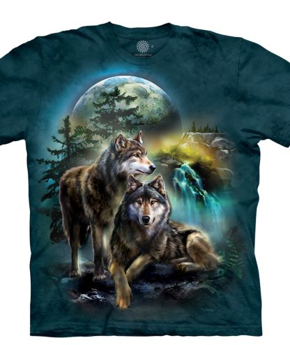 T-Shirt Wolf Lookout