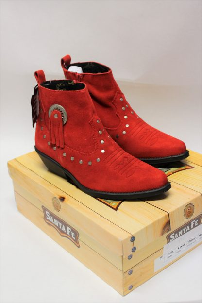 Stiefel 13484 red