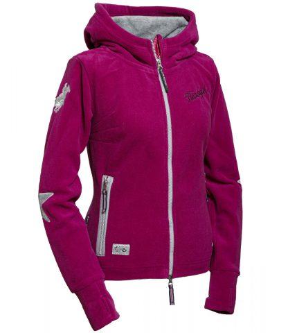 Fleece Jacke Abby pink