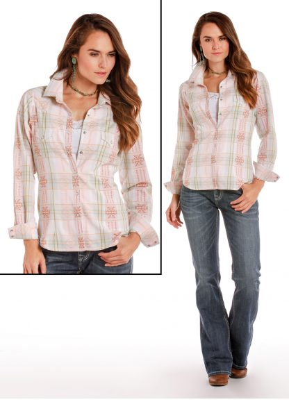 Bluse Mexico Front