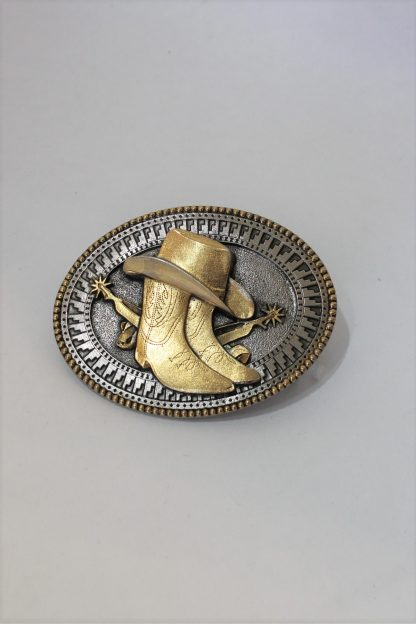 Buckle Boots and Hat