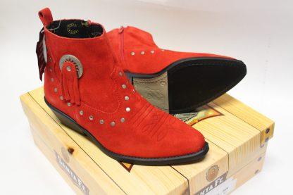 Stiefel 13484 red Details