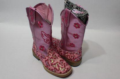 Stiefel pink Details