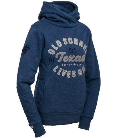 Sweatshirt Texas blue