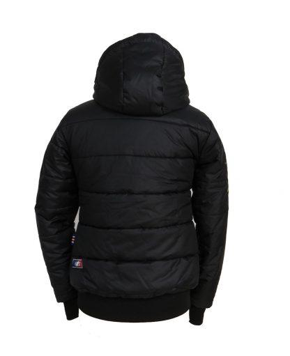 Wintertime Jacket Samantha back