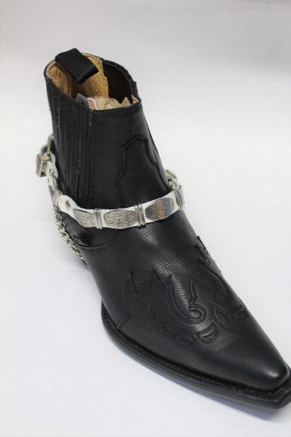 Stiefel Bänder white