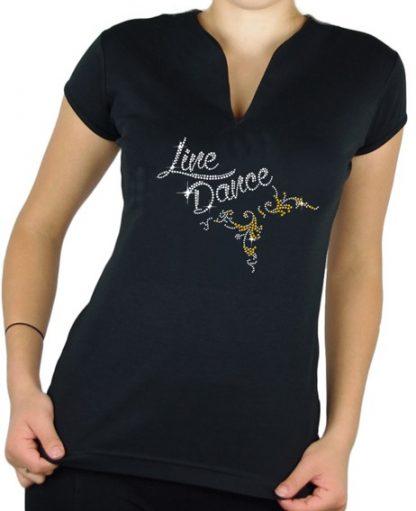 T-Shirt Line Dance Arabesque