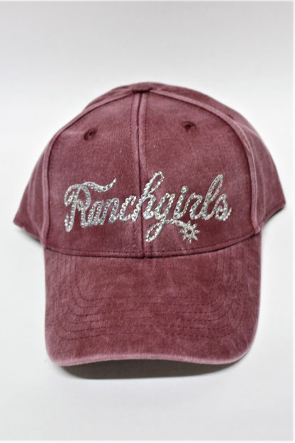 Ranchgirls Cap Berry Dyed Out