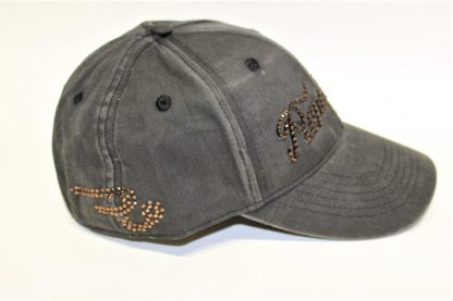 Ranchgirls Cap Black Dyed Out Details