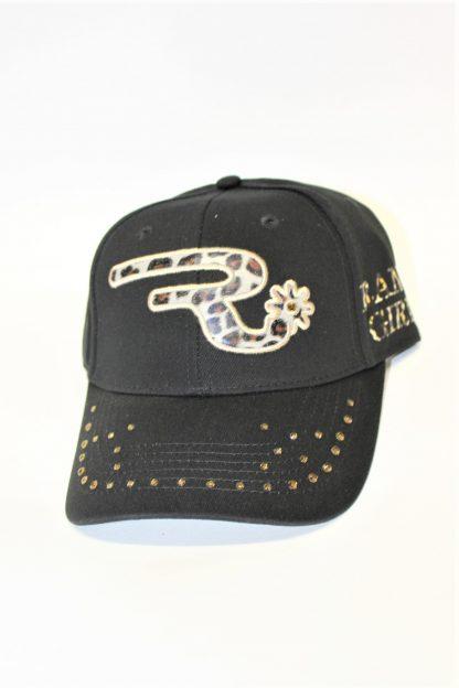 Ranchgirls Cap Black Leo