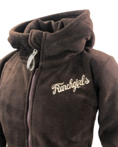 Ranchgirls Fleece choco klein