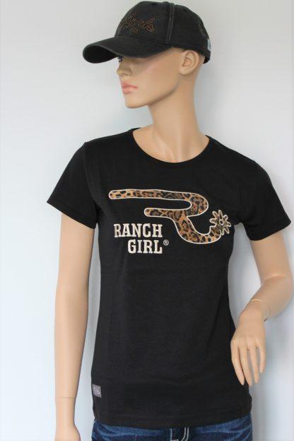 Ranchgirls Shirt Leo, black