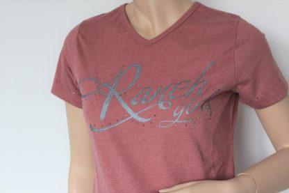 Ranchgirls Shirt Luisa nude klein