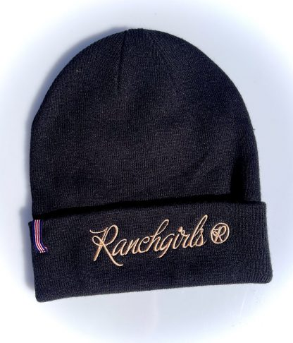Ranchgirls Beanie black