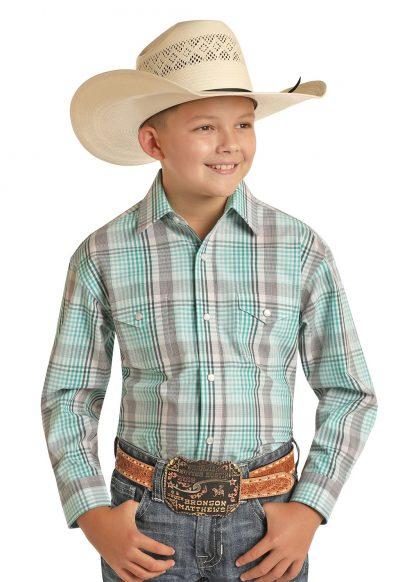 Cowboy Hemd Kids Lincoln