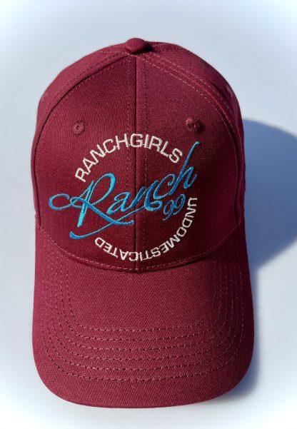 Cap Ranchgirls 99 bordo