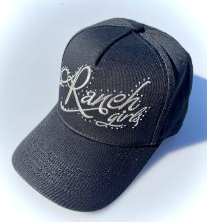 Cap Ranchgirls black silver