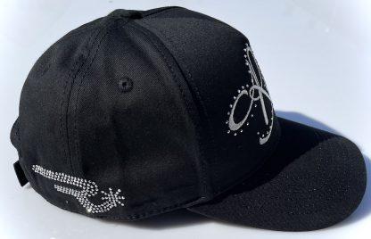 Ranchgirls Cap black silver Details