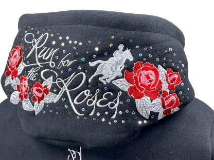 Sweat Jacke Run for the Roses details
