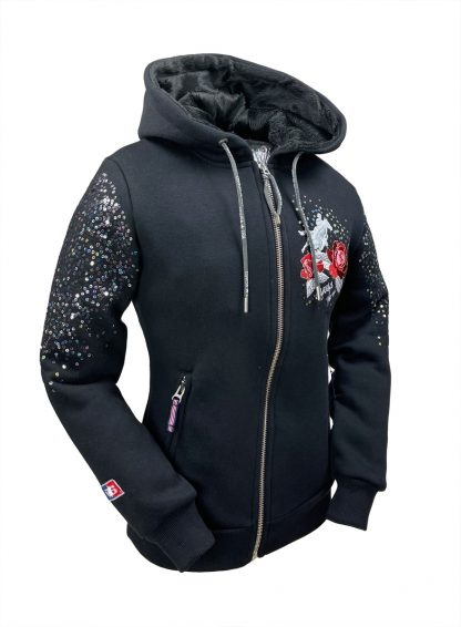 Sweat Jacke Run for the Roses