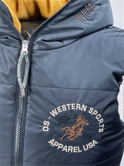 OSWSA Weste Polly black details